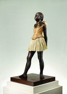 Edgar Degas La Petite Danseuse de Quatorze Ans cast in 1997 by M.T. Abraham Center - Provided by copyright owner of both photograph and artwork. Licensed under CC BY 3.0 via Wikimedia Commons